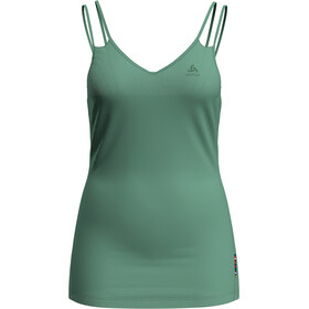 Odlo Natural + Light Suw Canotta con collo a V Donna, creme de menthe